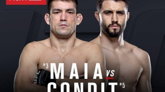 UFC On FOX 21: Carlos Condit vs. Demian Maia
