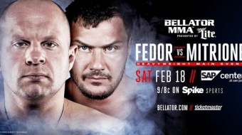 Bellator 172 - Fedor Emelianenko vs. Matt Mitrione