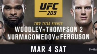 UFC 209: Woodley vs Thompson 2 - One More Time