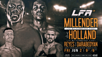 Uitslagen | LFA 13: Millender vs. Holland