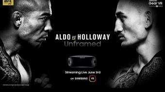 UFC 212 - Samsung stream in virtual reality