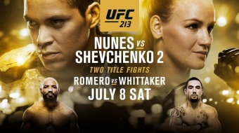 UFC 213: Nunes vs Shevchenko - A Legendary Card