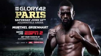 GLORY 42 Paris: Murthel Groenhart Highlight