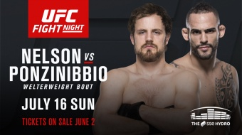 UFC Fight Night 113: Nelson vs. Ponzinibbio