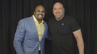 Dana White and Leonard Ellerbe - Mayweather vs. McGregor Media Scrum