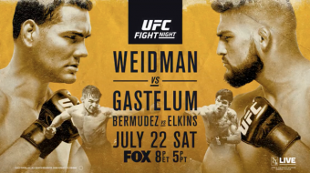 Uitslagen | UFC on FOX 25: Weidman vs. Gastelum