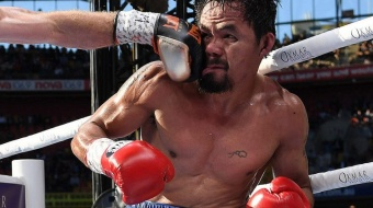 Pacquiao zet streep door revancheduel