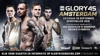 GLORY 45 Amsterdam: Tickets on sale!