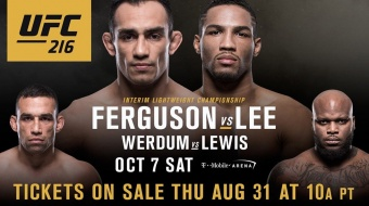 UFC 216: Ferguson vs Lee - Someone's Lights Will Go Out