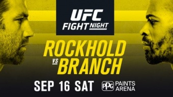 Uitslagen | UFC Fight Night 116: Rockhold vs. Branch
