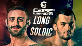 Cage Warriors 87: Long vs. Soldic