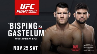 UFC Fight Night: Bisping vs Gastelum - NOV 25 SAT