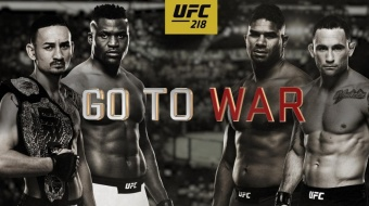 UFC 218: Holloway vs Aldo 2 – Go To War
