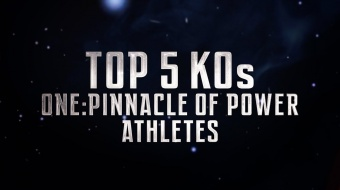 ONE Highlights | Top 5 Knockouts From ONE: PINNACLE OF POWER Athletes