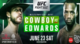 Uitslagen | UFC Fight Night 132: Cowboy vs. Edwards