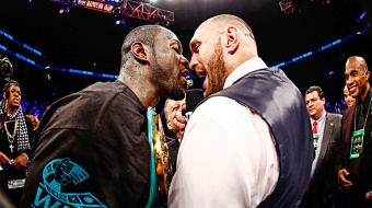 Deontay Wilder vs Tyson Fury in december