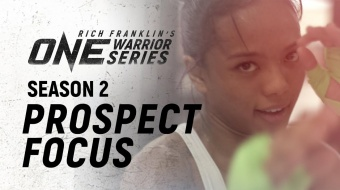 Rich Franklin's ONE Warrior Series | Season 2 | Prospect Focus: Gita Suharsono