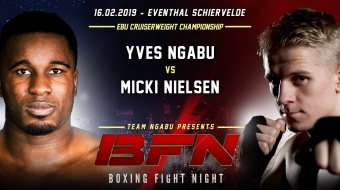 BOXING FIGHT NIGHT 16 februari 2019