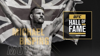 oud-Middleweightkampioen Michael Bisping wordt in UFC Hall of Fame opgenomen