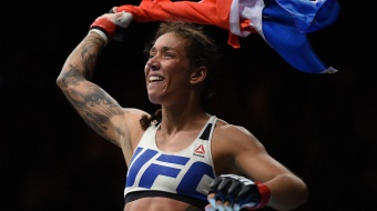 Germaine de Randamie staat dit weekend weer in de octagon