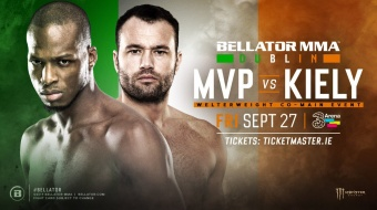 Michael Page vs. Richard Kiely Co-Main Event Bellator Dublin