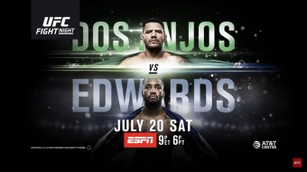 UFC on ESPN 4: Dos Anjos vs. Edwards