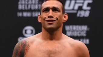 Fabricio Werdum: 'He cut my nose, but he didn't break it'