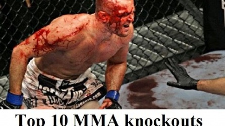 Best Top 10 Knockouts in 2016 according to UFC