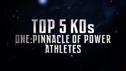 ONE Highlights | Top 5 Submissions From ONE: PINNACLE OF POWER Athletes